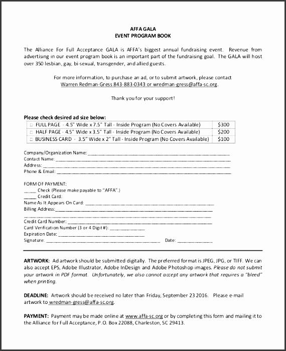 gala event program