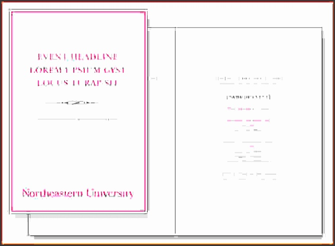 9 event program format - sampletemplatess