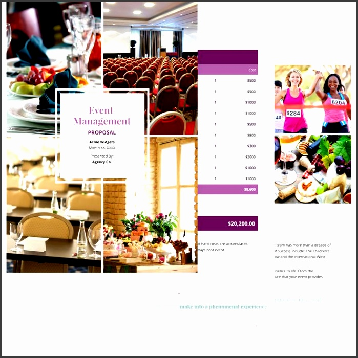 event management proposal template if you re an event management pany providing event planning services