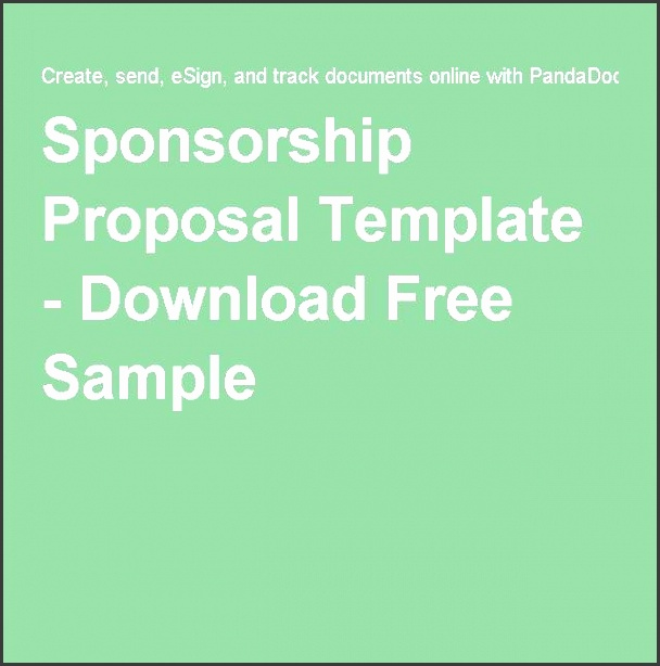this free sponsorship proposal template can help persuade businesses to sponsor your event or product making sure to focus on the au nce and benefits
