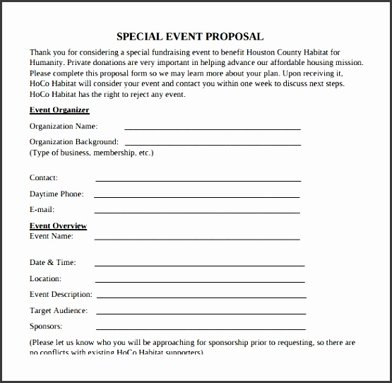 Sample Event Proposal Template 21 Free Documents In Pdf Word In Free Project  Event Proposal Template Word