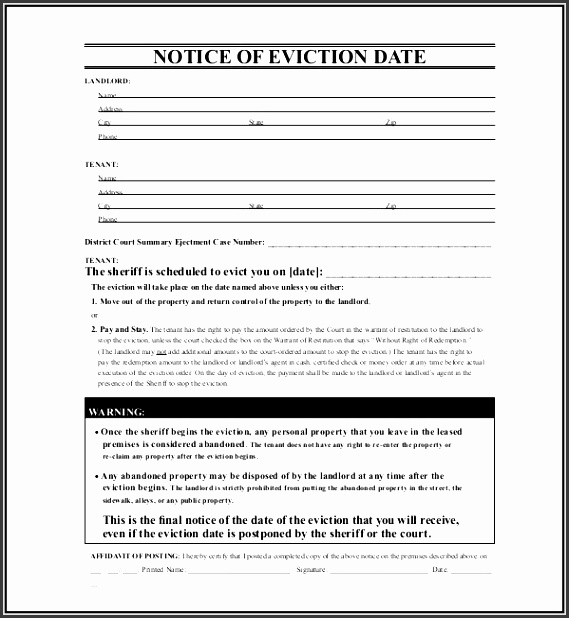 free eviction notice form texas eviction notice template texas