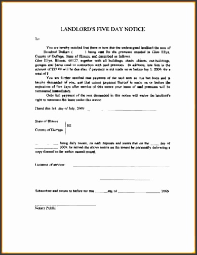 11 eviction notice form cashier resume blank eviction notice form