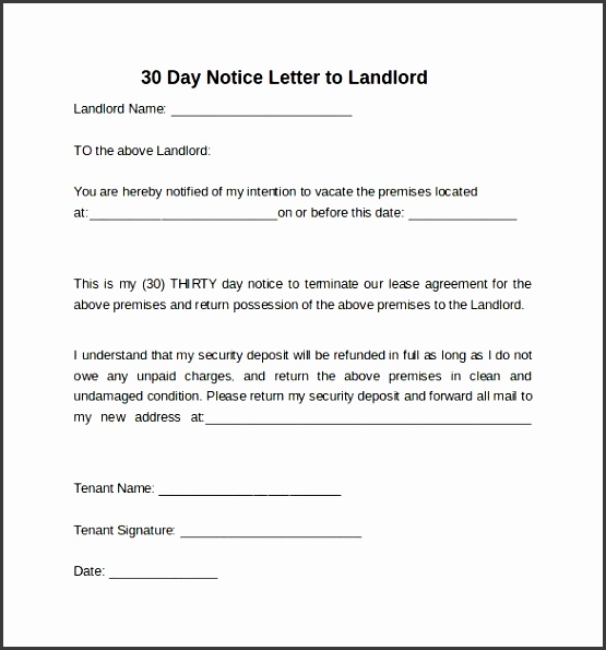eviction notice tenant eviction notice letter sample letter to landlord