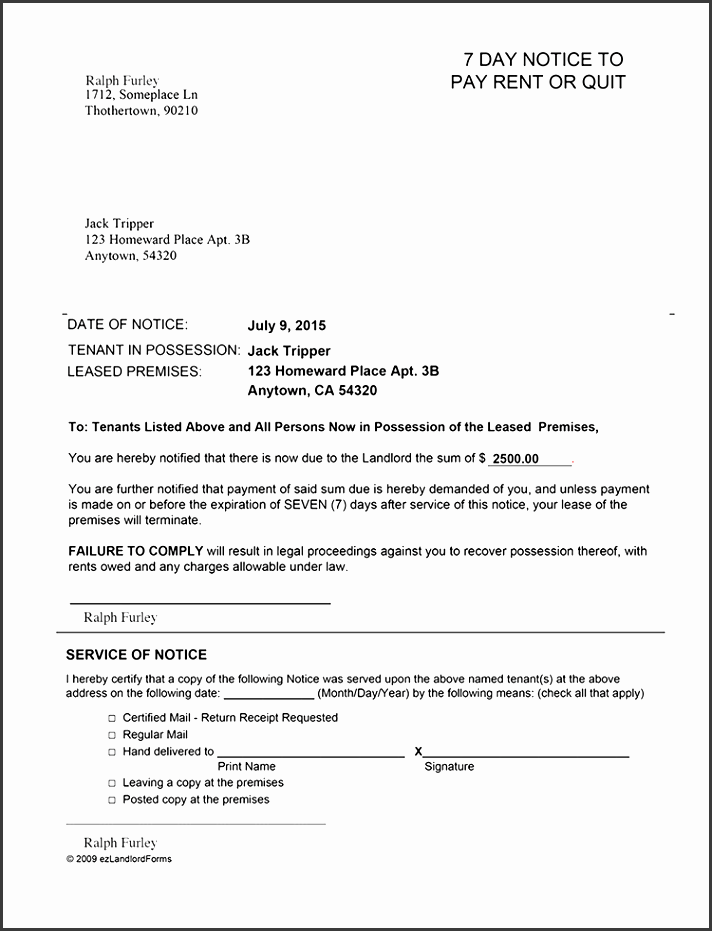 alabama 7 day notice for failure to pay rent