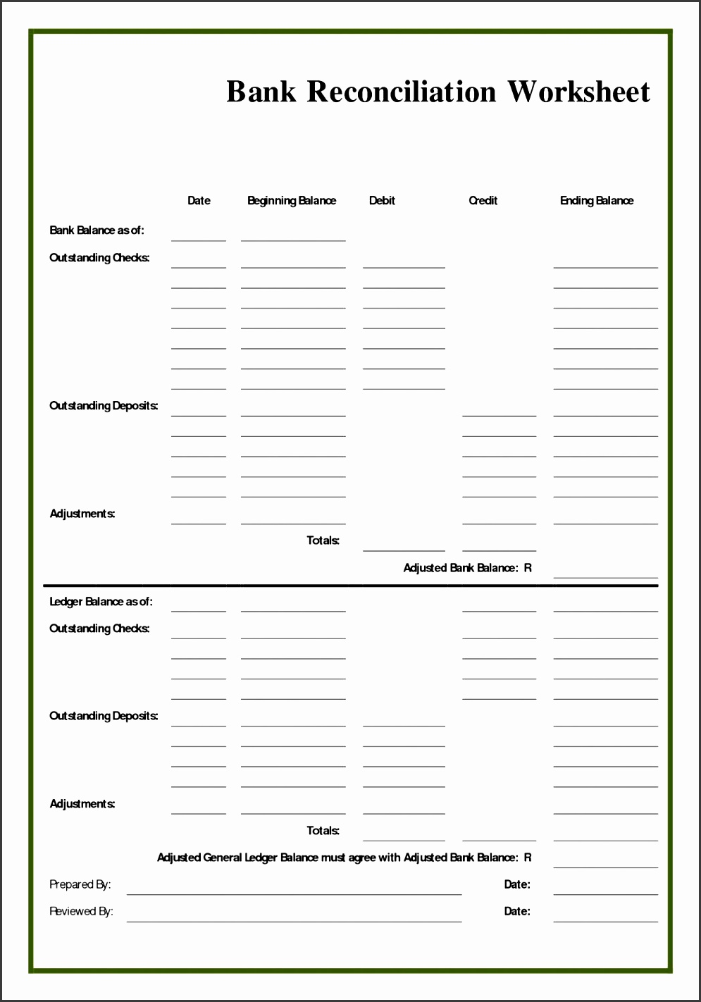 blank bank statement template free affidavit form free sample blank bank reconciliation form best template design images example simple is this youtube f