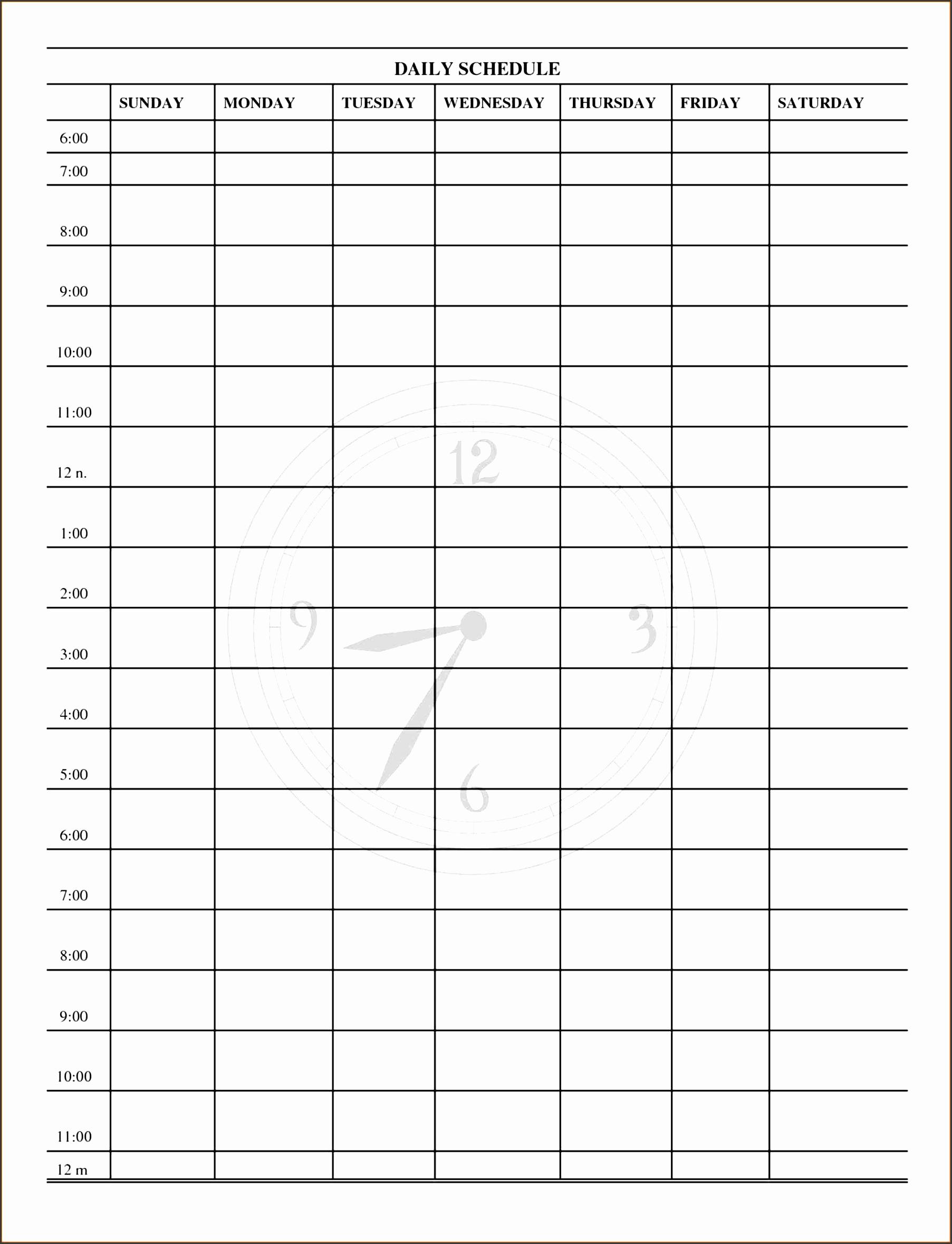 template excel weekly employee schedule template sendlettersinfo daily work log receipt templates daily daily work schedule