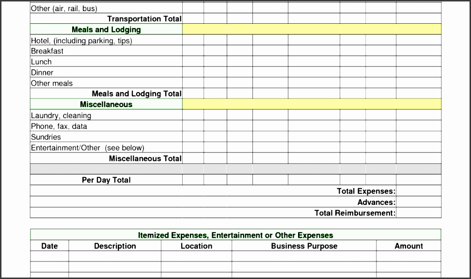 Sample Itemized Expense Report on business income, quicken income, yearly total, for reimbursement, healthcare revenue, completed business,