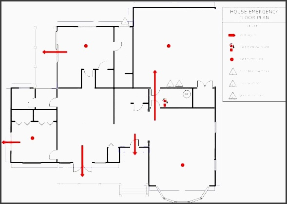 smartdraw tip when you select an existing family emergency evacuation plan the smartpanel will automatically display a symbol library to household