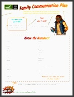 cover photo for the document family munication plan for parents and kids ready kids