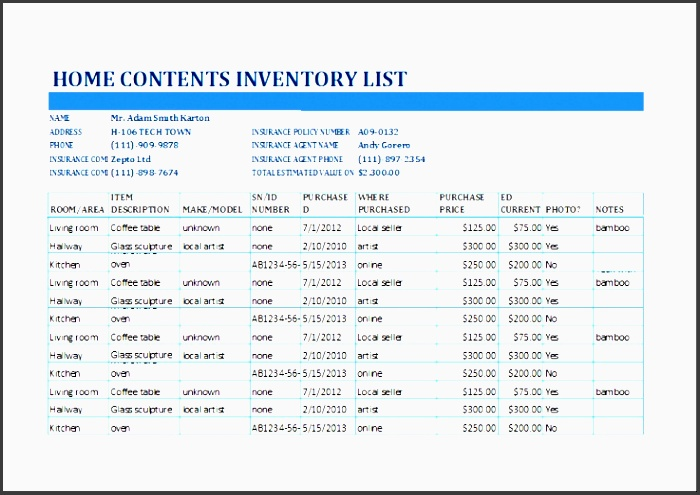 ms excel holiday shopping bud template xwjww best of excel home contents inventory list template