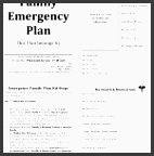 home design emergency plan template family printable documents for within family emergency plan template