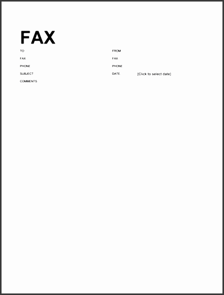 fax covers office