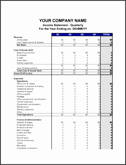 in e statement quarterly 1 fill in the blanks 2 customize template 3 save as print share sign done