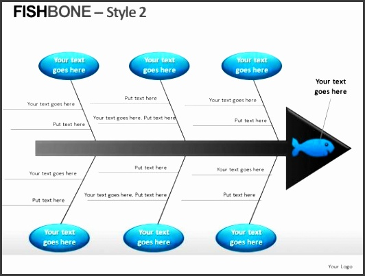 9 fishbone diagram template in powerpoint