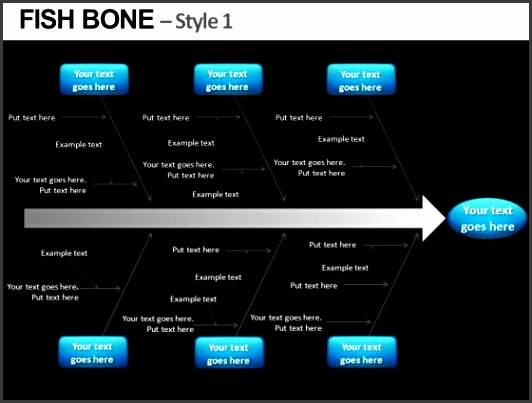 cause and effect fishbone diagram powerpoint slides editable ppt templates