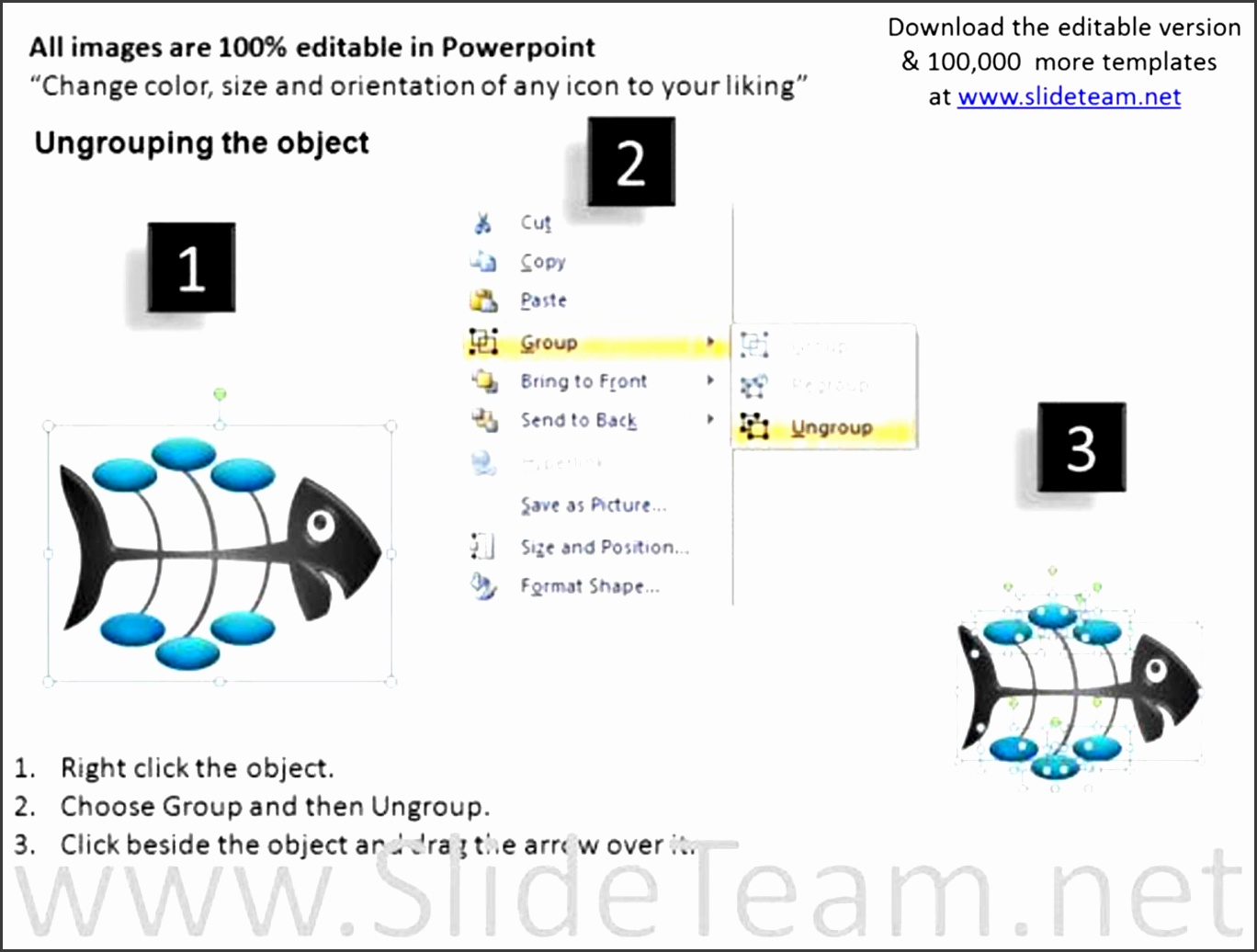 editable fishbone diagrams powerpoint ppt slides ppt templates