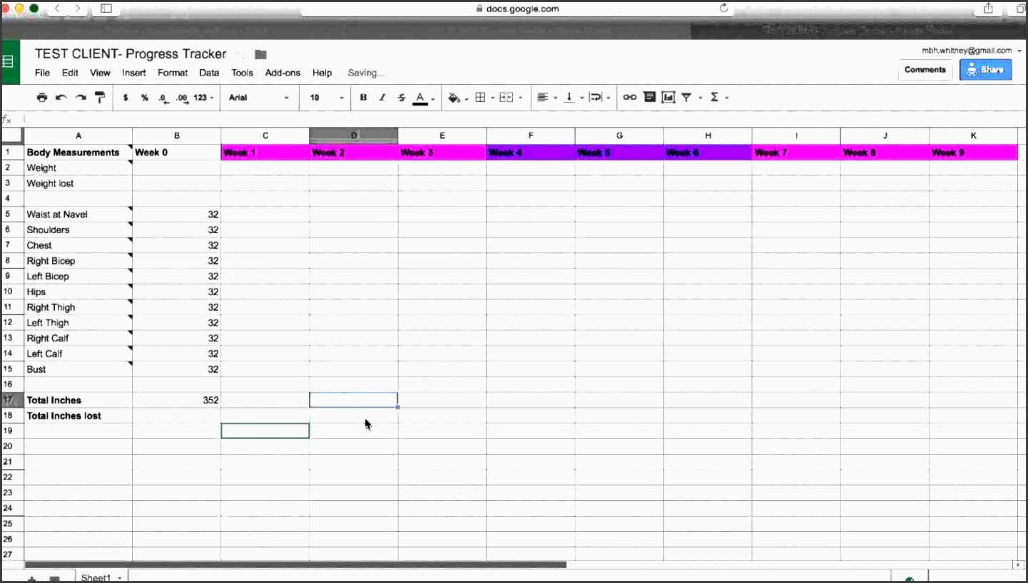 template and measurement progress measurement spreadsheet body measurement chart ideas on pinterest online health and fitness printables kit weight