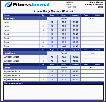 fitness journal weight training journal keep track of your