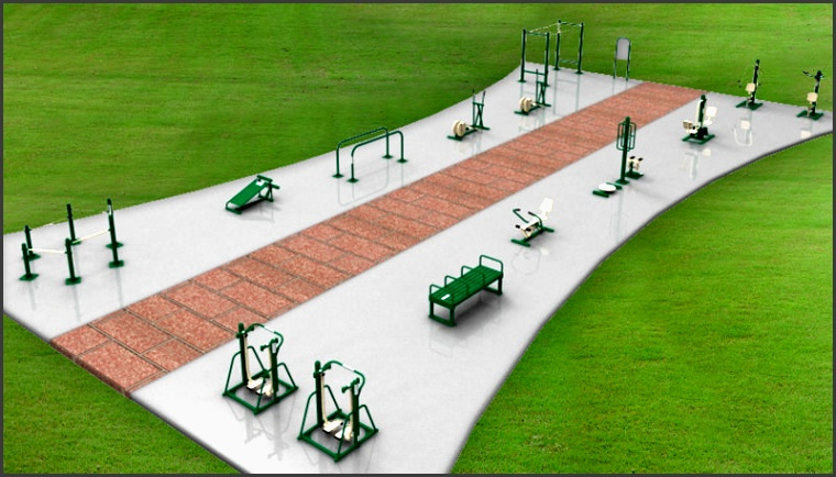 triactive fitness equipment layout