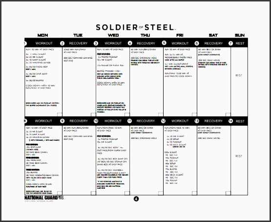 training plan template 20 free pdf documents free