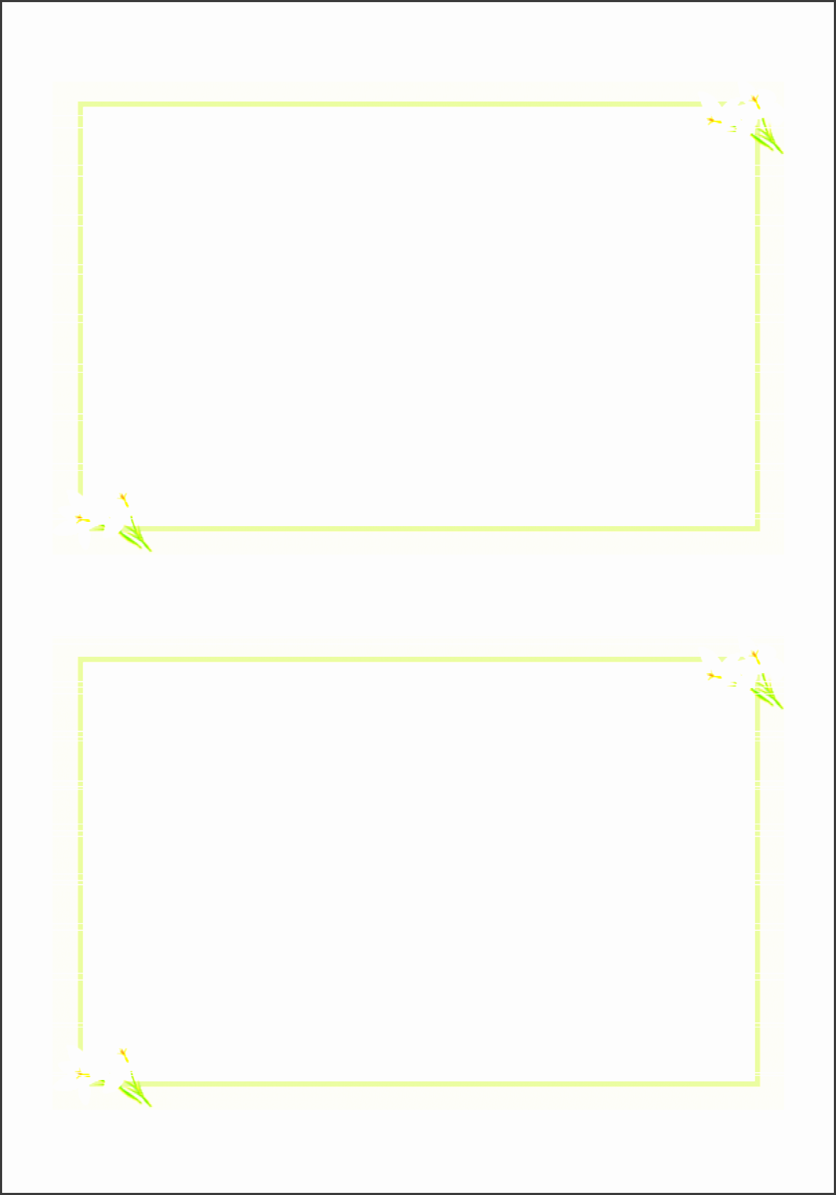 blank pledge card templates free printable flash template taradel greeting cards best free home design idea inspiration