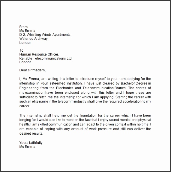 business introduction email to client