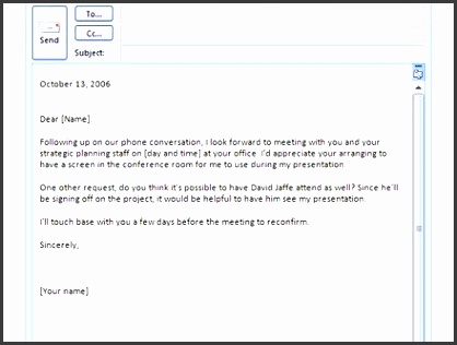 business email template outlook business email template