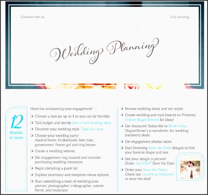 the plete wedding planning checklist from magnetstreet