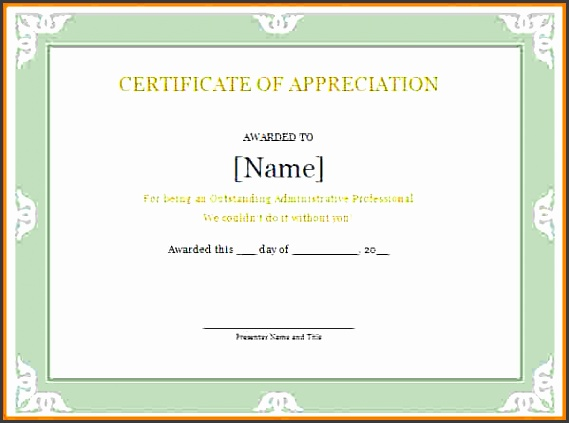 this is a professional certificate of appreciation template designed to help you to make your own great certificates to give anyone who has been gone above