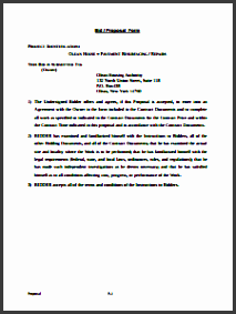 bid proposal template edit fill create and print
