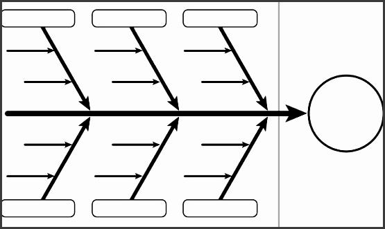 template for fishbone diagram fishbone diagram template free templates free premium templates ideas