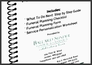 funeral pre planning checklist and funeral planning worksheet