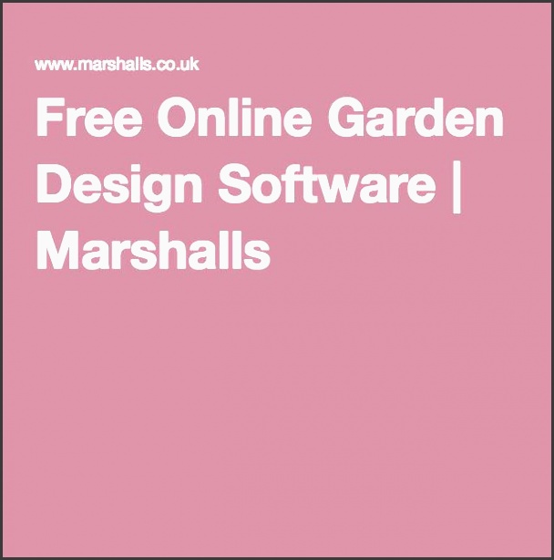 free online garden design software marshalls