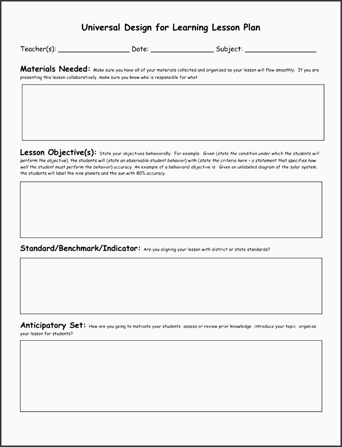 civics lesson plan templates florida standards preschool blank lesson plan template