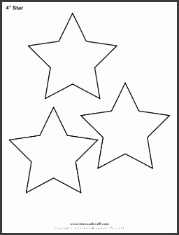 printable star templates free blank star shape pdfs within star outline template 120