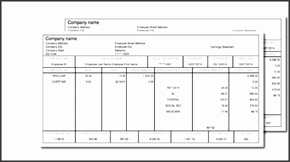 paycheck stub online free instant preview intended for free check stub template printables