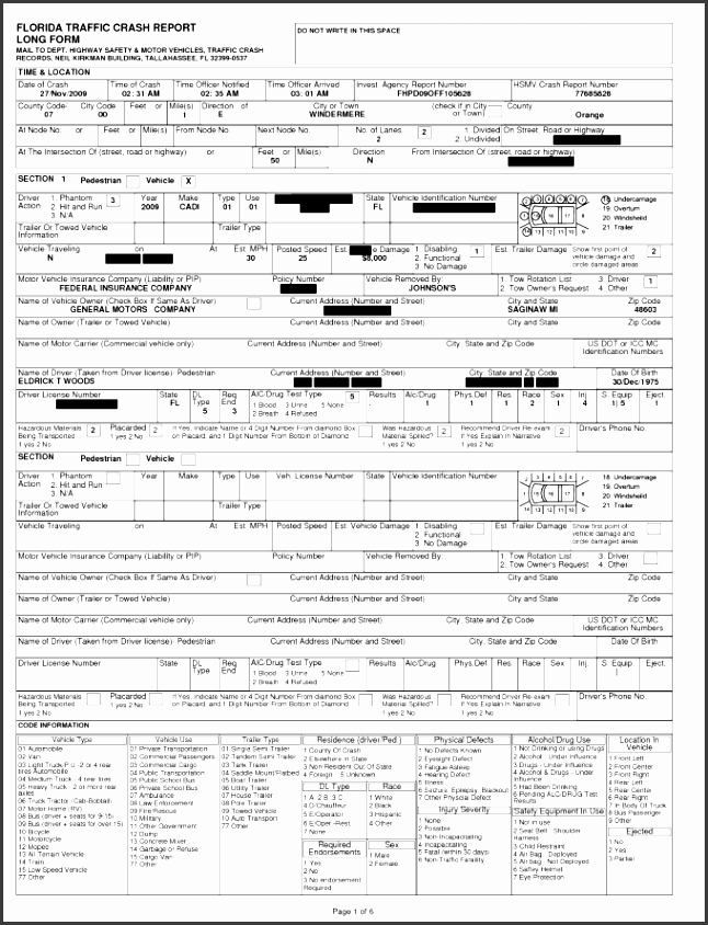 ontario motor vehicle accident report template caferacer 1firts
