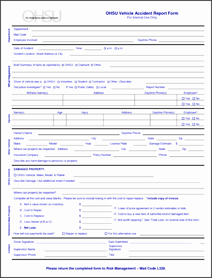 printable fake insurance cards with accident report template pdf