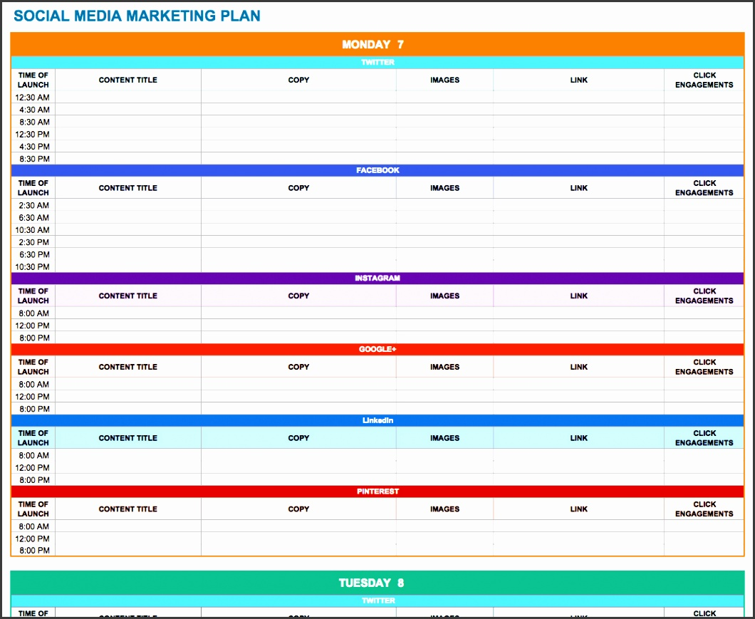 socialmediamarketingplan 0 social media marketing plan template