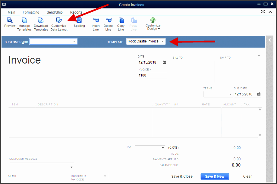 create customized invoices from quickbooks online webmerge