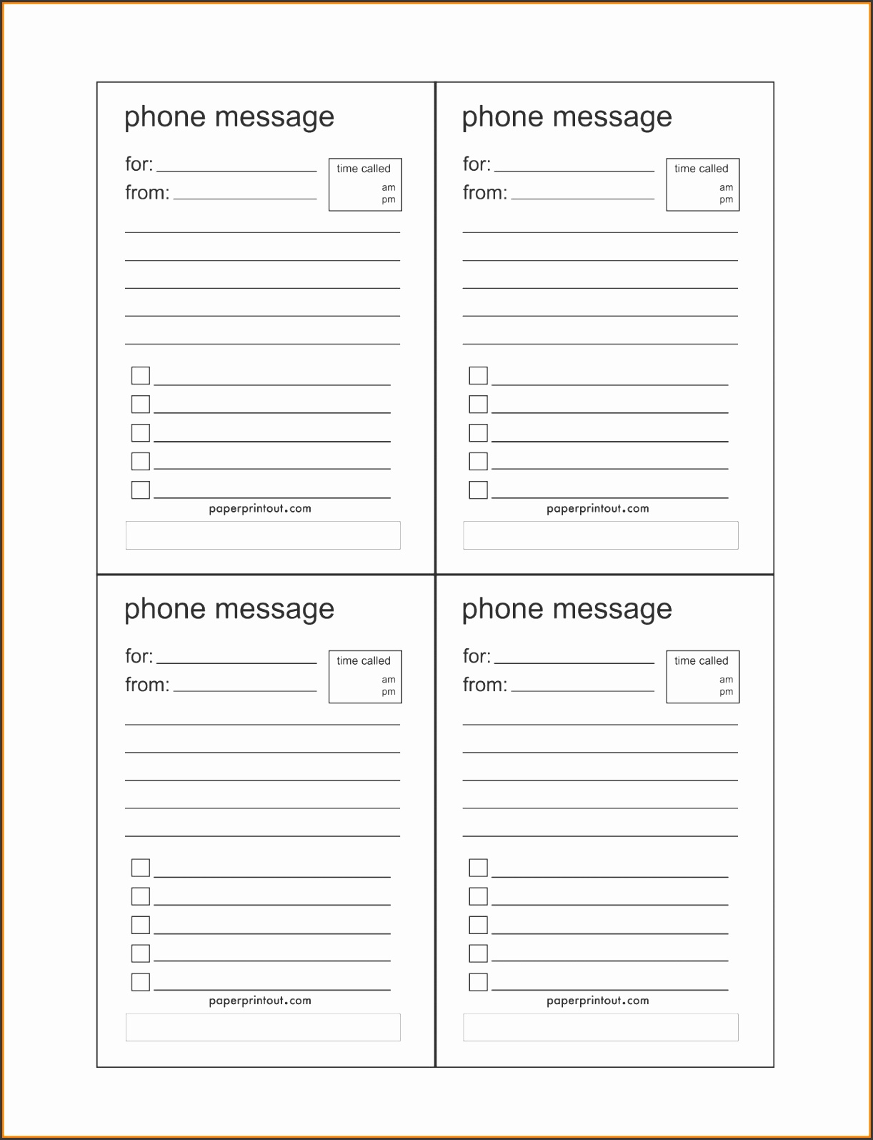 10 free rent receipt templates hloom 4 phone message template receipt templates gallery printable online calendar