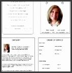 funeral pamphlets pink floral funeral program trifold brochure templates