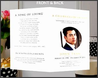 funeral program template obituary program celebration of life memorial order of service