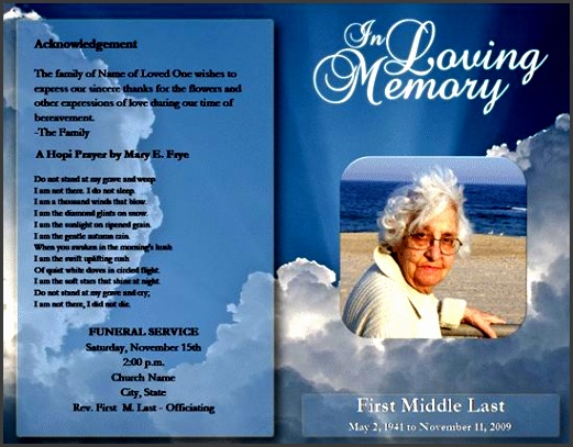 free funeral brochure templates online free funeral program template microsoft word passed free free
