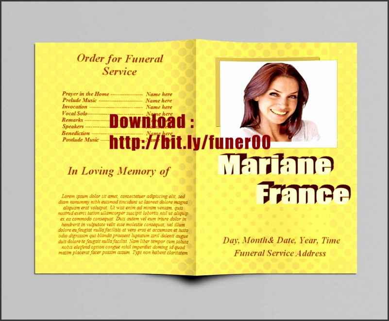 funeral program templates for ms word to pinterest