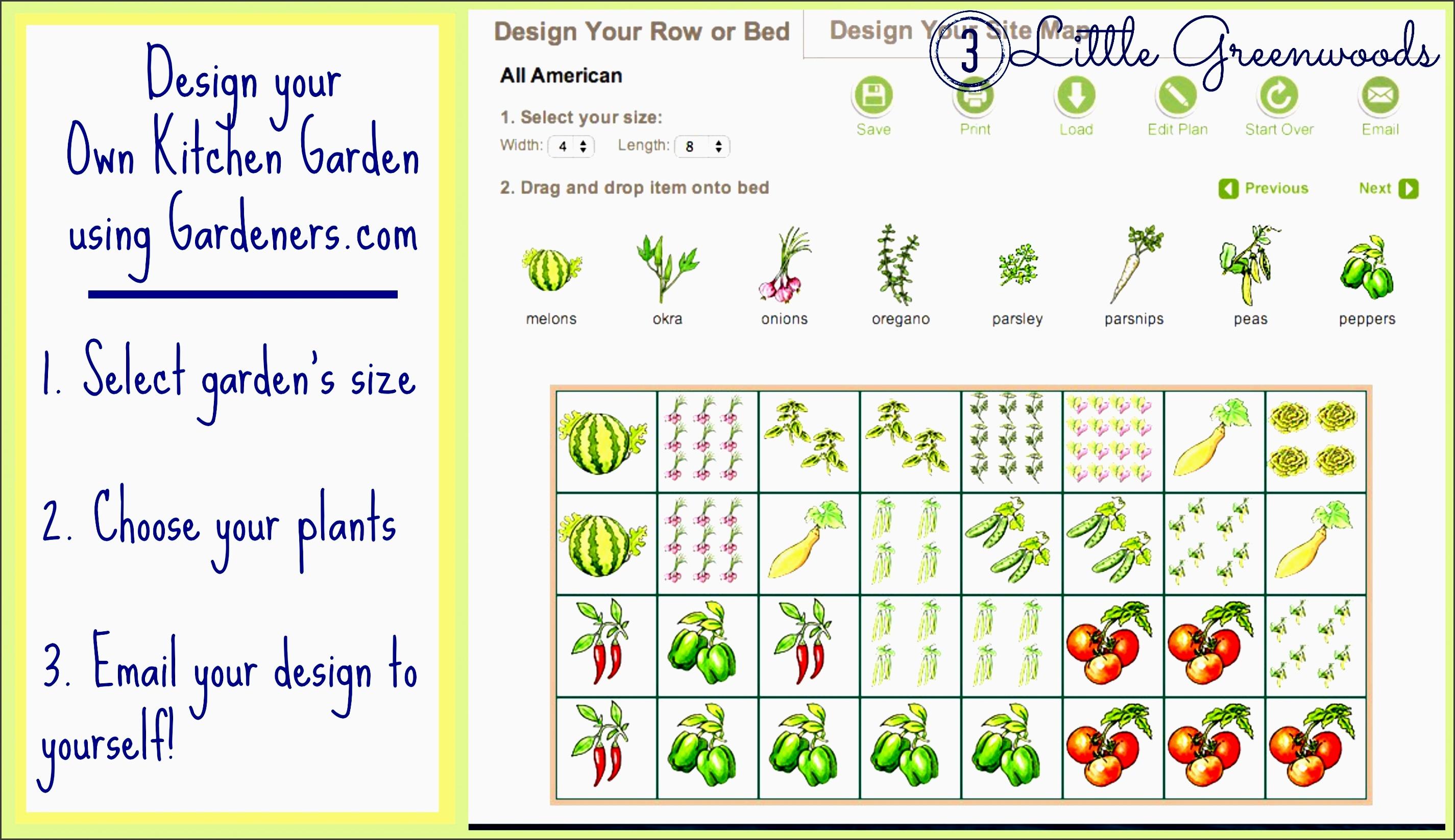 kitchen garden design diy container planning and planting collage