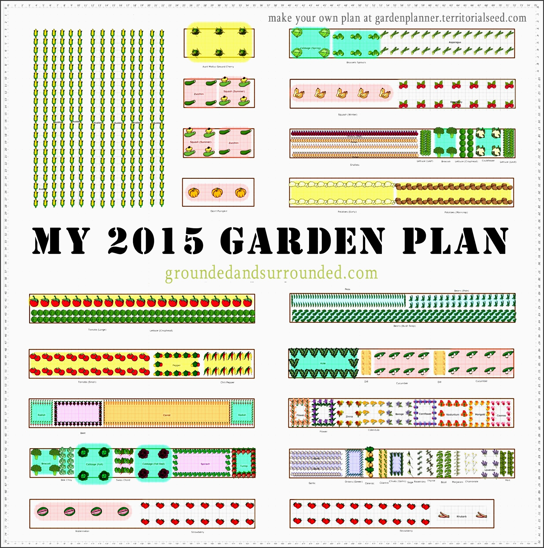 i have often wished that more gardeners shared their large ve able garden plans online this