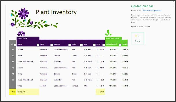 6+ Garden Planner Template - SampleTemplatess ...