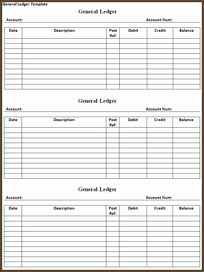 6 small business general ledger template